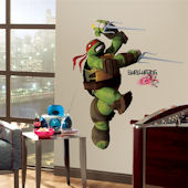 Teenage Mutant Ninja Turtles Raphael Wall Decal
