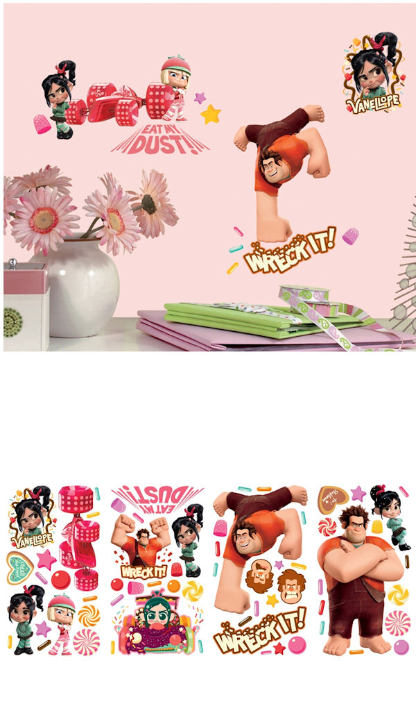 Wreck It Ralph Wall Decals