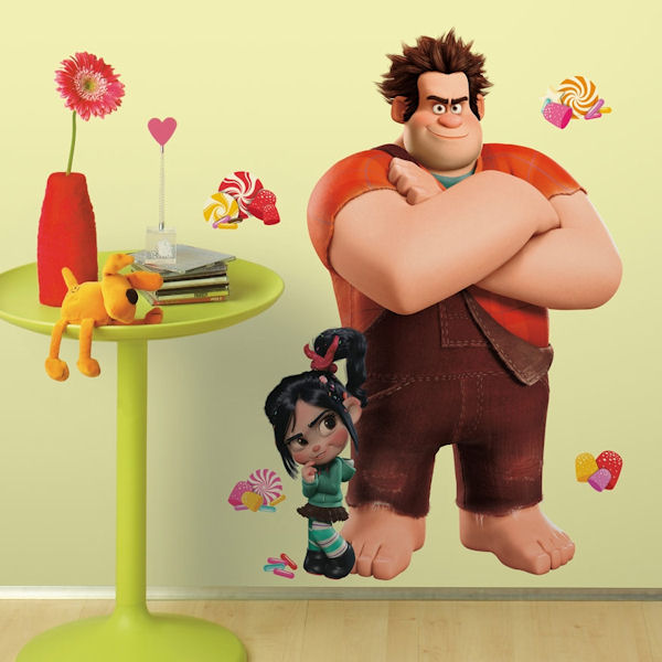 Wreck It Ralph Giant Wall Decals