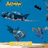 Batman Gotham Guardian Peel and Stick Appliques