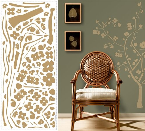 Cherry Blossom Appliques - Wall Sticker Outlet