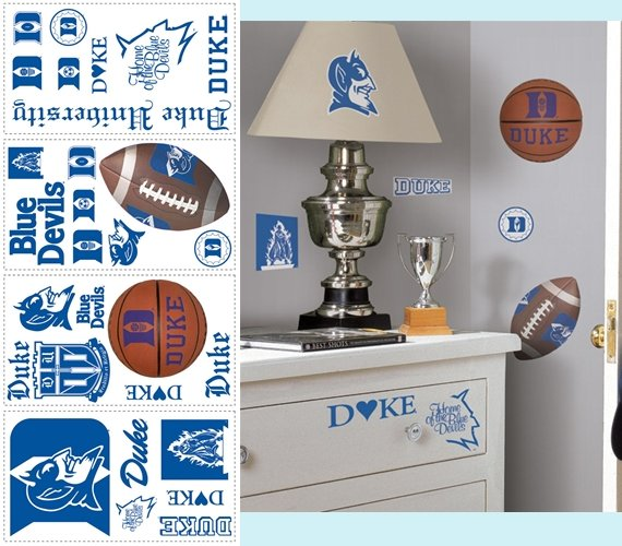 Duke University Blue Devils Appliques - Kids Wall Decor Store