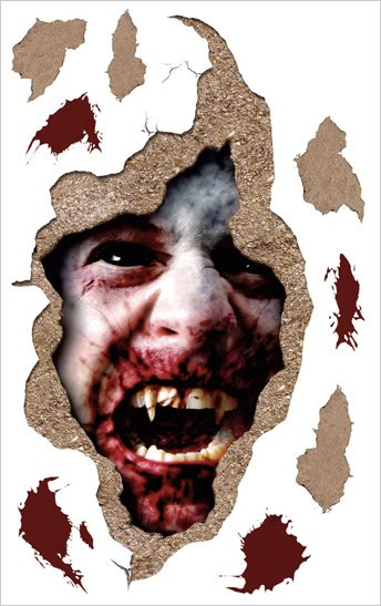 Bloody Vampire Halloween Applique SALE - Wall Sticker Outlet