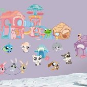 Exceptional Littlest Pet Shop Peel And Stick Appliques SALE Amazing Design