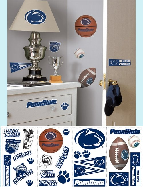 Penn State Nittany Lions Appliques - Kids Wall Decor Store