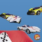Speed Racer Peel and Stick Appliques SALE