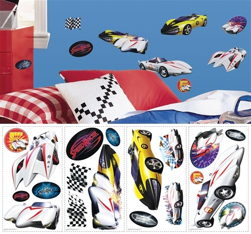 Speed Racer Peel and Stick Appliques SALE - Wall Sticker Outlet