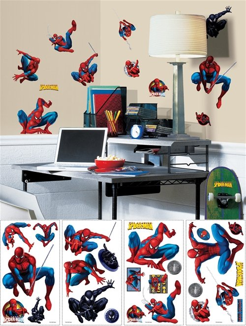 Amazing Spiderman Appliques - Wall Sticker Outlet