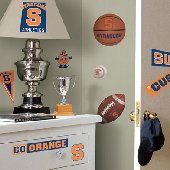 Syracuse Orange Peel and Stick Appliques