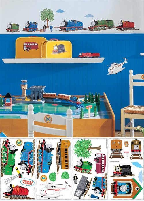 Marvelous Thomas And Friends Peel And Stick Appliques   Wall Sticker Outlet Part 19
