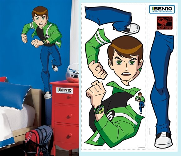 ben 10 alien force wallpapers. Ben 10 Alien Force Giant Wall