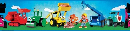 Bob The Builder Wall Border   Wall Sticker Outlet Part 26