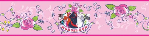 Horseland Wall Border SALE - Wall Sticker Outlet
