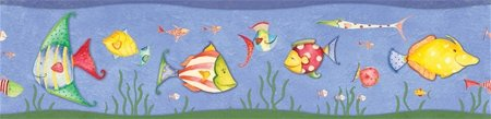Sea Creatures Wall Border - Kids Wall Decor Store
