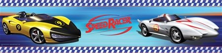 Speed Racer Wall Border SALE - Wall Sticker Outlet