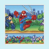 Spider-Man and Friends Wall Border