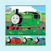 Thomas and Friends Wall Border