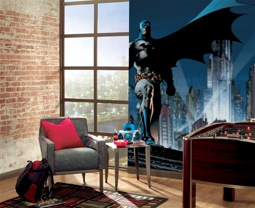 Batman giant xl wall mural 9 x 15 feet sale for Boys wall mural