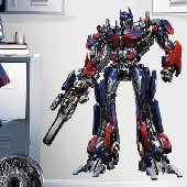 SALE Transformers the Movie Giant Wall Mural