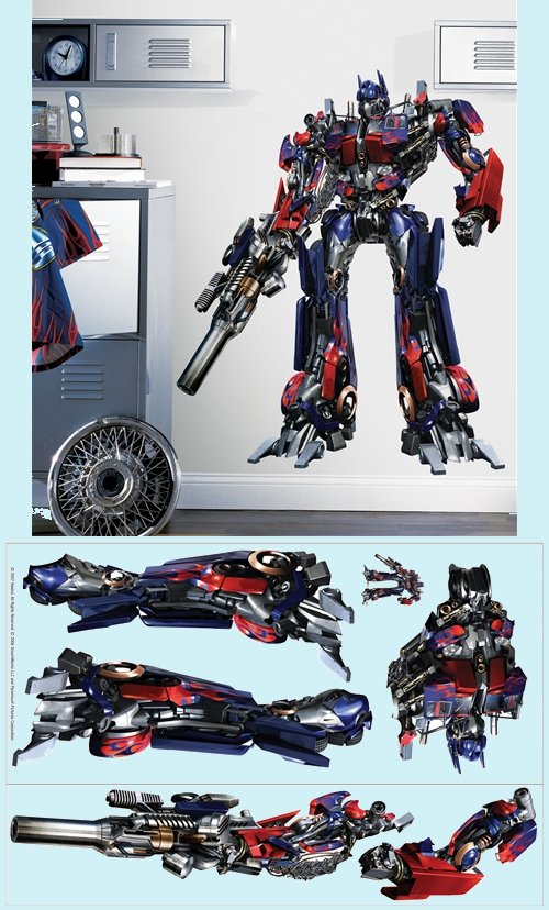 sale transformers the movie wall mural