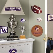 University of Washington Huskies Wall Stickers