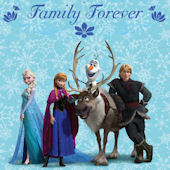 Disney Frozen Family is Forever Wall Decal
