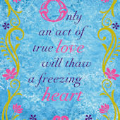 Disney Frozen Freezing Heart Wall Decal