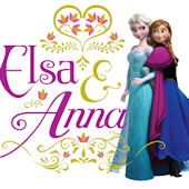 Disney Frozen Elsa and Anna Wall Decal