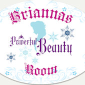 Disney Frozen Powerful Beauty Personalized Decal