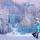 Disney Frozen Elsa Personalized Wall Decal
