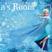 Disney Frozen Snow Queen Personalized Wall Decal