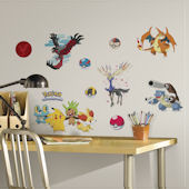 XY Pokemon Wall Decals