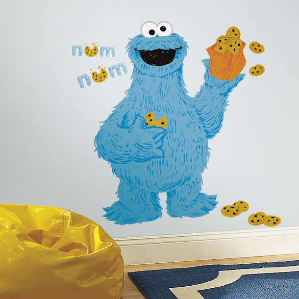 C is for Cookie Monster Giant Wall Decals - Wall Sticker Outlet
