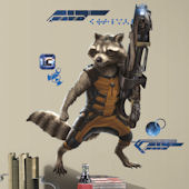Guardians of the Galaxy Racoon Giant Wall Decals