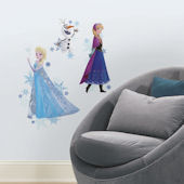 Frozen Anna Elsa and Olaf  Peel and Stick Decals