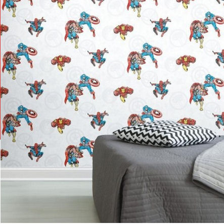 Marvel Comics Peel and Stick Wallpaper - Wall Sticker Outlet