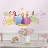 Disney Princess Glow Within Princess Wall Decals