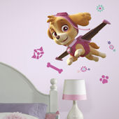 Paw Patrol Skye Giant Wall Decal