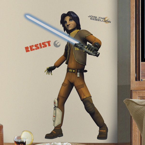 Star Wars Rebels Ezra Peel and Stick Decal SALE - Wall Sticker Outlet