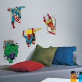 Marvel Superhero Burst  Peel and Stick Decals