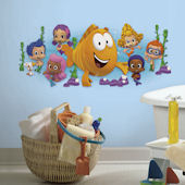 Bubble Guppies Character Burst Giant Decals