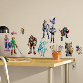 The Legend of Zelda Ocarina of Time 3D Wall Decals