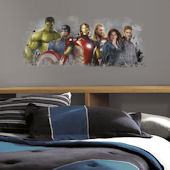 Avengers Age of Ultron Distressed Giant Decal