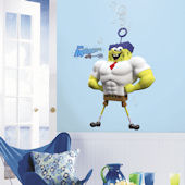 The Spongebob Movie Character Giant Wall Decals