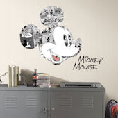 Mickey Mouse Comic Peel and Stick Wall Graphic