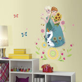 Disney Frozen Fever Group Peel and Stick Decal