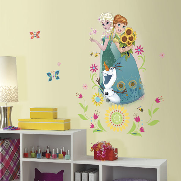 Disney Frozen Fever Group Peel and Stick Decal - Wall Sticker Outlet