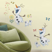 Frozen Fever Olaf Wall Decal