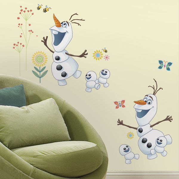 Frozen Fever Olaf Wall Decal - Wall Sticker Outlet