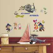 Captian Jake and The Neverland Pirates Decals